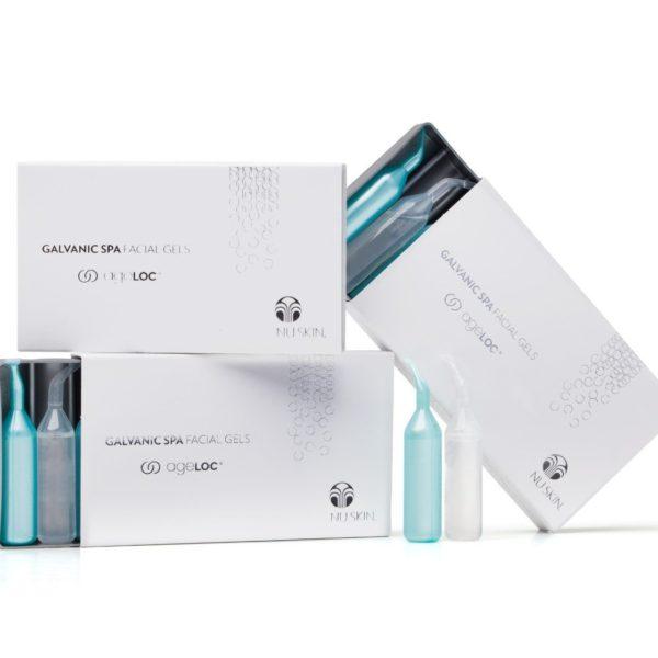 Galvanic Spa Facial Gels med ageLOC® (3 æsker)
